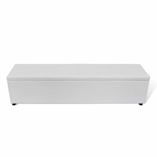 Miroir Upholstered Storage Bench by Ebern Designs Ebern Designs