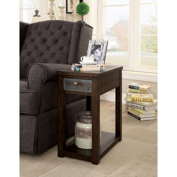 Prout Spacious Rectangular End Table with Storage by Breakwater Bay