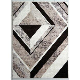 Buy clear Berber/Brown Area Rug ByRug Tycoon
