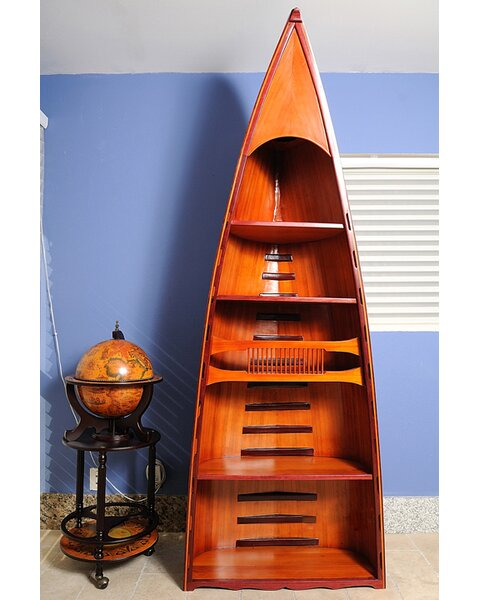 Canoe Standard Bookcase by Old Modern Handicrafts