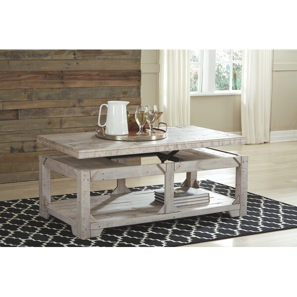 Ezio Lift Coffee Table With Lift Top By Highland Dunes