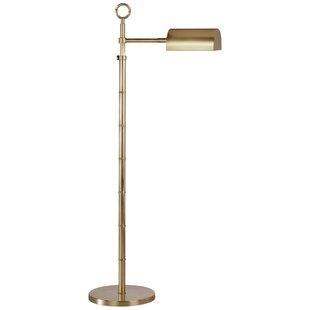 Brass pharmacy floor lamp wayfair jonathan adler meurice adjustable pharmacy task floor lamp mozeypictures Choice Image
