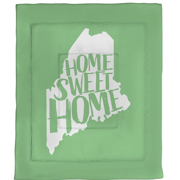 Home Sweet Maine Single Reversible Comforter