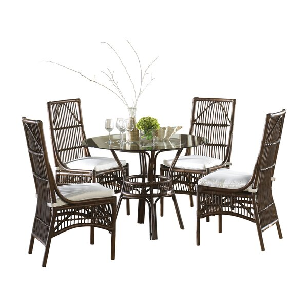 Bora Bora 5 Piece Dining Set by Panama Jack Sunroom