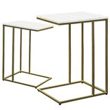 Thane 2 Piece Coffee Table Set by Everly Quinn