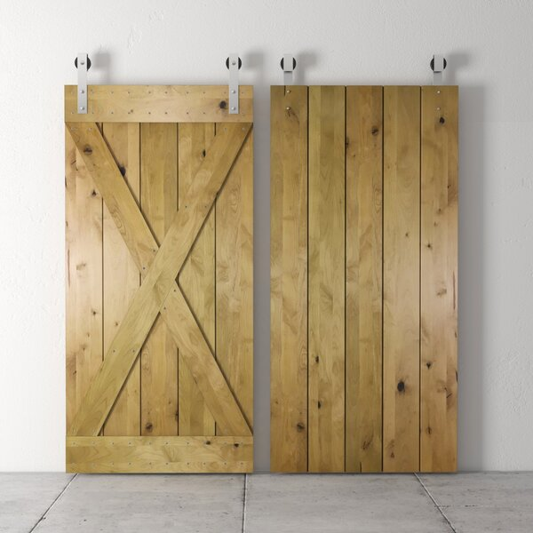 Solid Wood Room Dividers Interior Barn Door by Urban Woodcraft