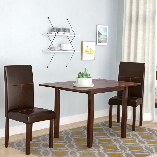 Lorenzen 3 Piece Dining Set by Brayden Studio