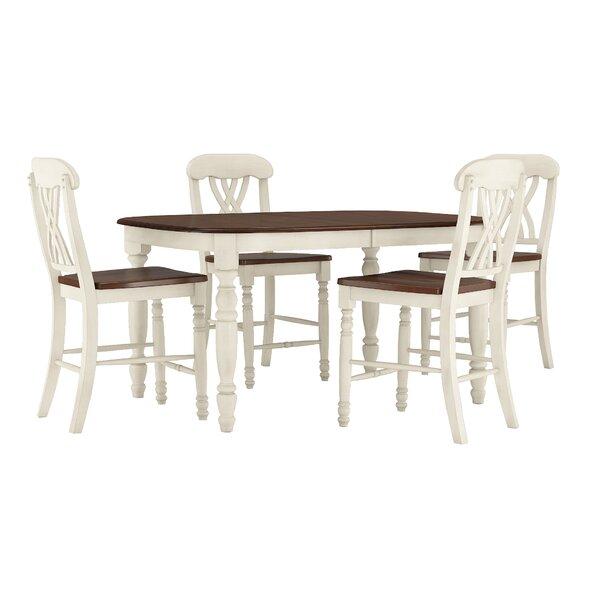 Heidi 5 Piece Pub Table Set by Alcott Hill
