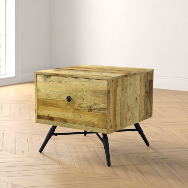 Coda End Table By Foundstone