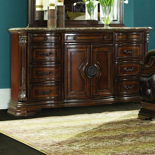 Daniela 10 Drawer Combo Dresser by Astoria Grand