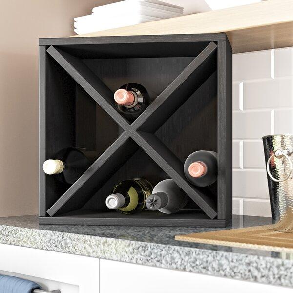 Tallent 12 Bottle Tabletop Wine Bottle Rack by Ebern Designs