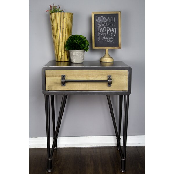 Coulter End Table With Storage By Williston Forge