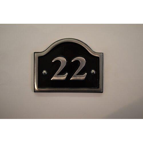30|5 cm Wandbefestigte Hausnummer Jaclynn Garten Living Number: 22 | Lampen > Aussenlampen > Hausnummern | Garten Living
