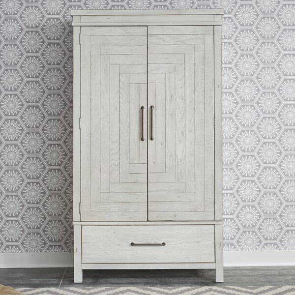 Cortinas Wardrobe Armoire by Gracie Oaks