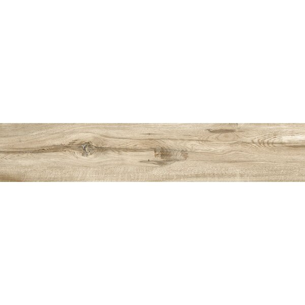 Bowmore 8 x 48 Porcelain Wood Look Tile in Oak by The Bella Collection