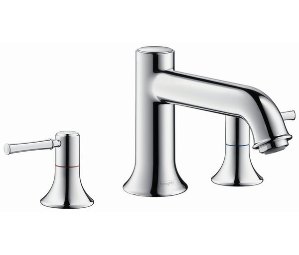 Talis C Double Handle Deck Mounted Roman Tub Faucet Trim by Hansgrohe Hansgrohe