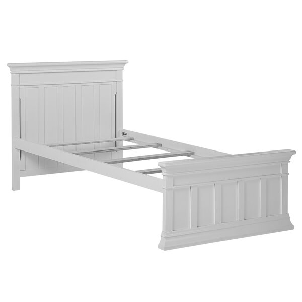 Napoli Twin Panel Bed with Trundle by Evolur