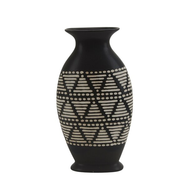 Thurman Ceramic Table Vase by Union Rustic