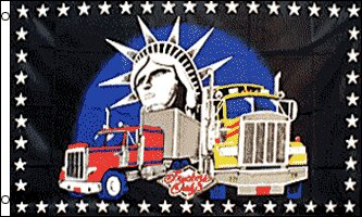 Truckers Only Traditional Flag by Flags Importer