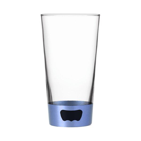 Pint Beer Glass Opener 16 oz. Stainless Steel by Ad N Art