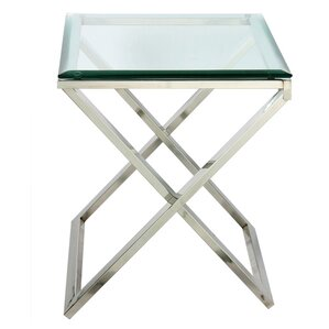 Hudson Cross End Table by ..
