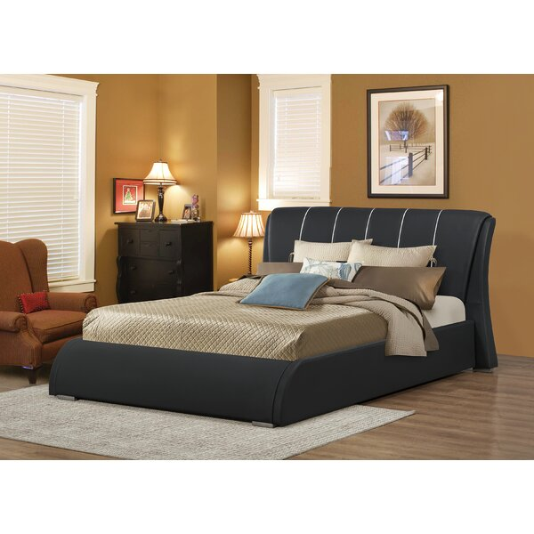 Courtney Upholstered Panel Bed by Wildon Home ®