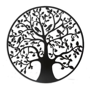 Rustic Metal Tree Of Life Wall Décor