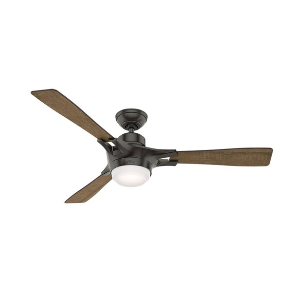 54 Signal 3 Blade LED Ceiling Fan with Remote by Hunter Fan