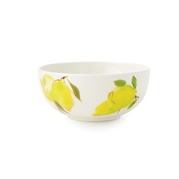 Lemon Melamine 24 oz. Individual Bowl (Set of 2) by kate spade new york