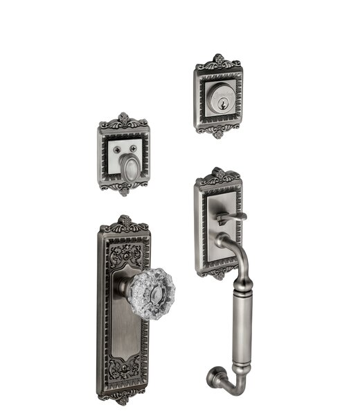 Windsor Keyed Door Knob by Grandeur