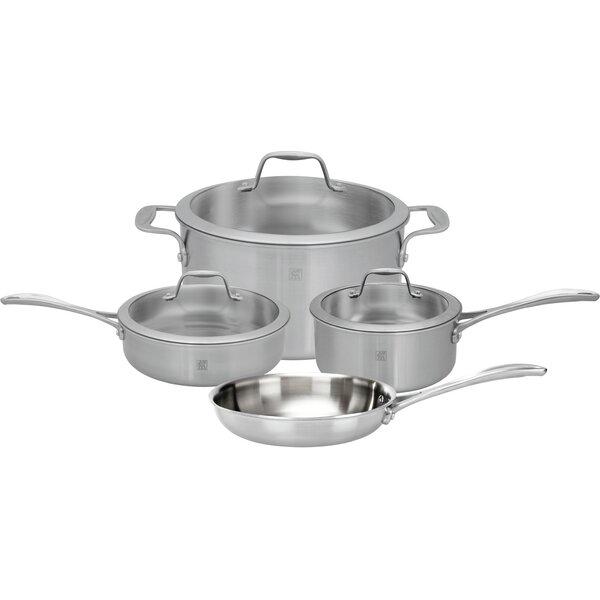 Spirit 7 Piece Stainless Steel Cookware Set by Zwilling JA Henckels