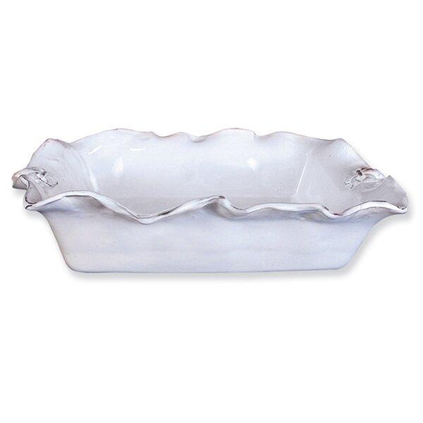 Fleur De Lis Rectangle Casserole Platter by Abigails