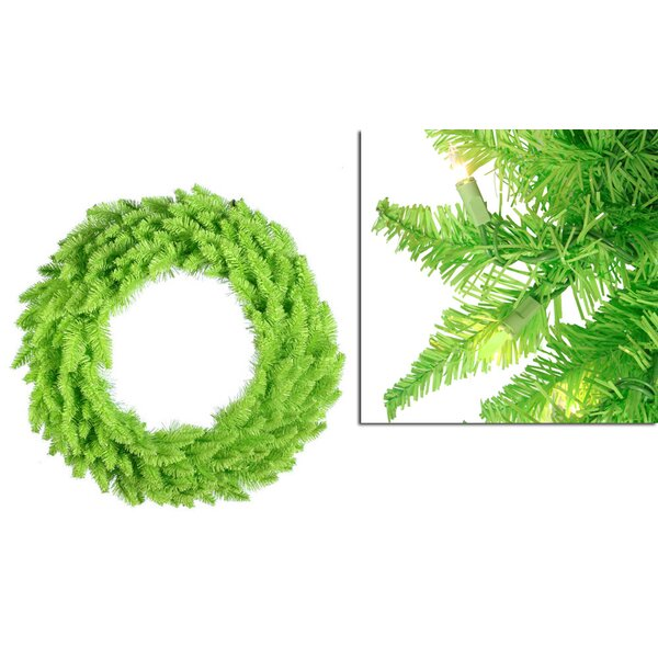 36 Lighted Ashley Spruce Christmas Wreath by Vickerman