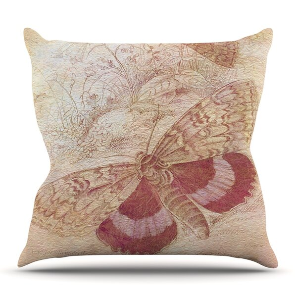 Vintage Garden by Suzanne Carter Outdoor Throw Pillow by East Urban Home