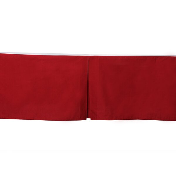 Stars Solid Crib Skirt by Bacati