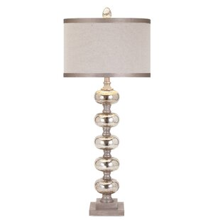 Bargain Bucknell Ginger Mercury Glass 36 Table Lamp By House of Hampton