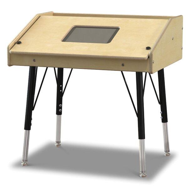 Wood Adjustable Height Tablet Table by Jonti-Craft