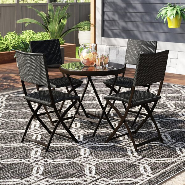 Alpena 5 Piece Bistro Set By Zipcode Design