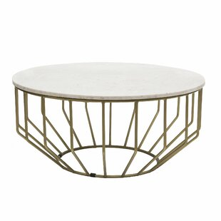 Singletary Marble Round Coffee Table