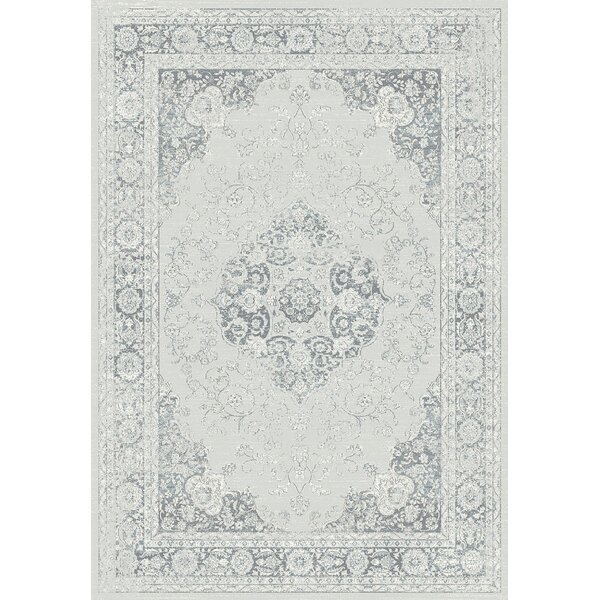 Jewett Gray Area Rug by Ophelia & Co.