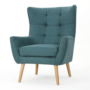 Barone Mid Century Fabric Club Chair by George Oliver