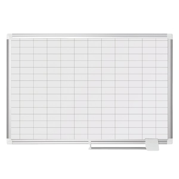 Wall Mounted Whiteboard By Mastervision.
