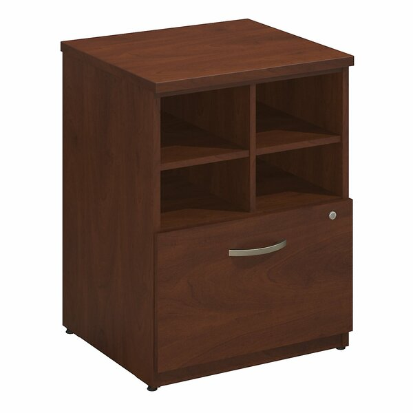 Series C Elite Pedestal Piler/Filer 1 Drawer Vertical File by Bush Business Furniture