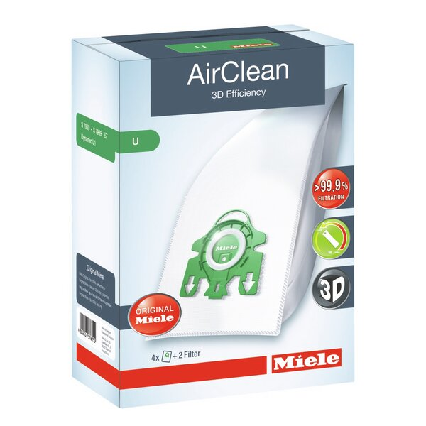 Air Clean 3D Efficiency Filter Bag by Miele