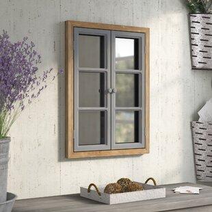 August Grove Fales Window Pane Wall Mirror