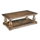 Kristy Solid Wood Solid Coffee Table with Storage by Laurel Foundry Modern Farmhouse