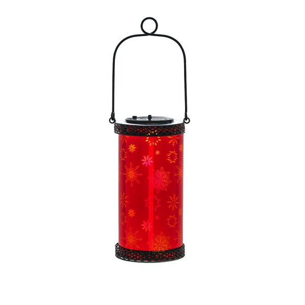 Stargazing Solar Glass Lantern Lamp by Ivy Bronx