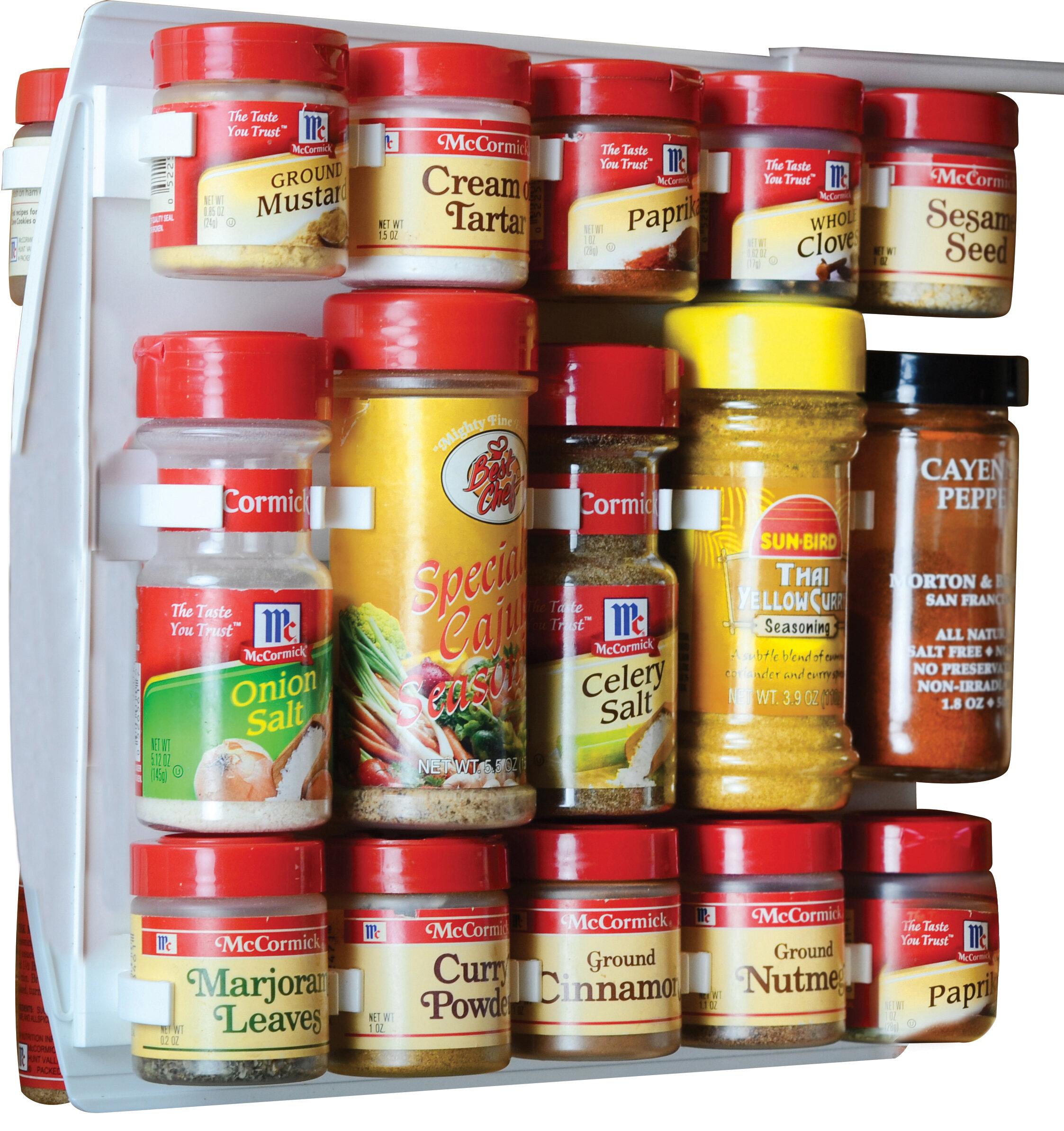 NEW SpiceStor Organizer Spice Rack 20 Clip 10 x 5 FREE SHIPPING