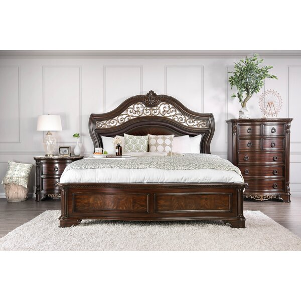 Caulfield Upholstered Standard Bed by Fleur De Lis Living