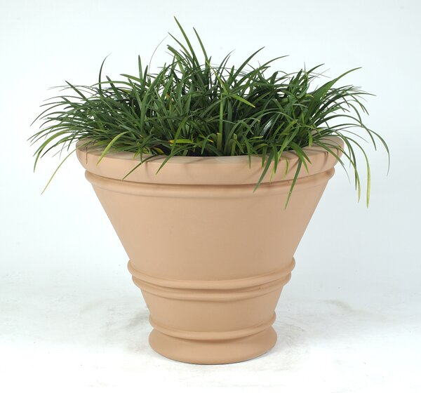 Havana Plastic Pot Planter by Allied Molded Products